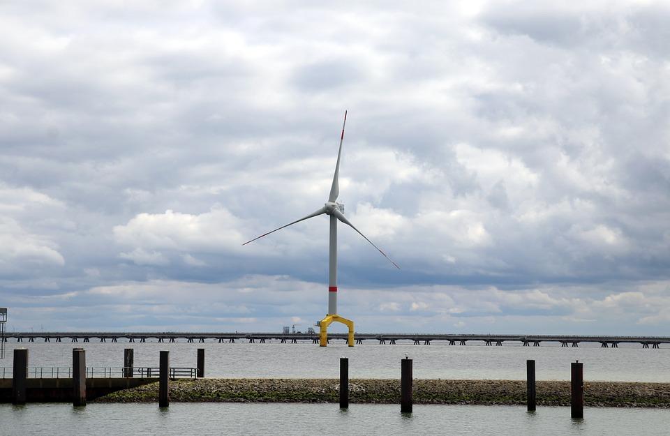 EU-Klimaziele erreichbar durch Windkraft auf See